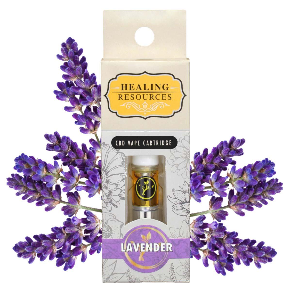 Pure CBD Vape Lavender Cartridge