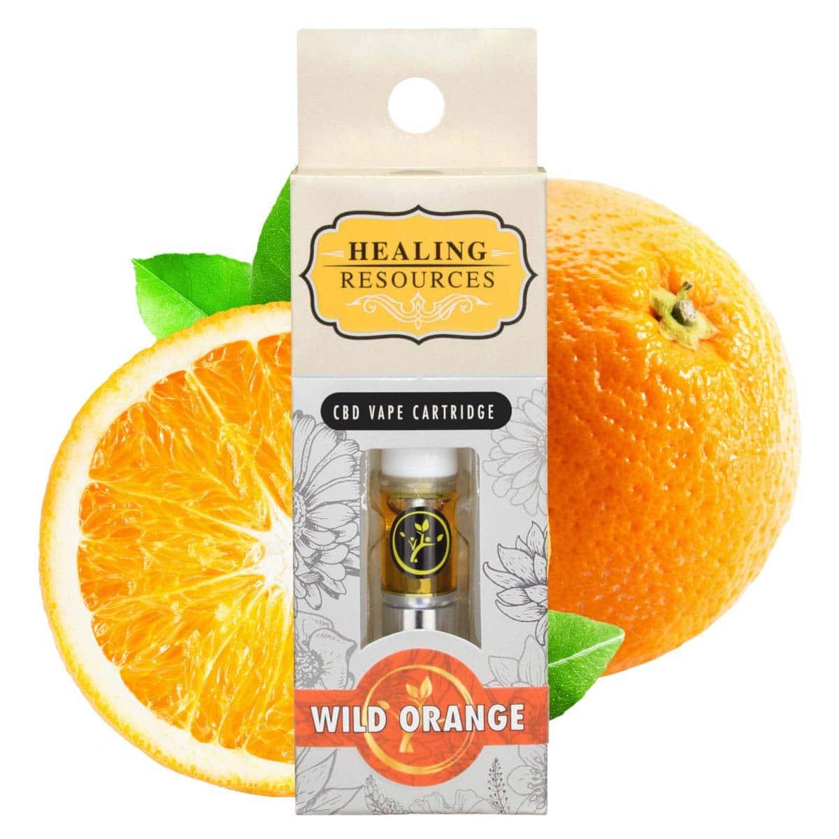 Pure CBD Vape Wild Orange Cartridge