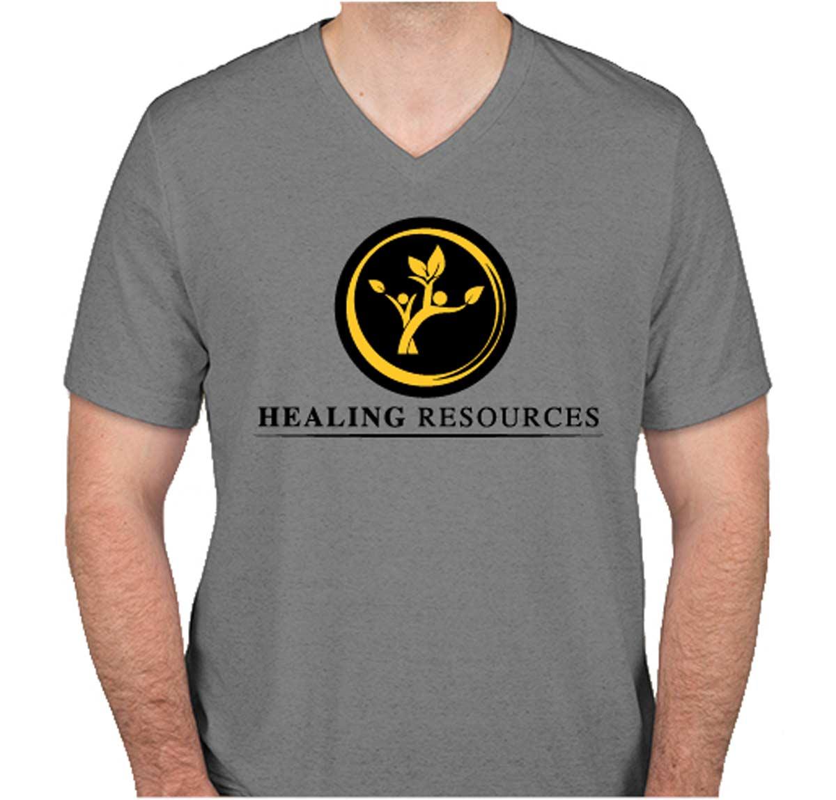 Healing Resources Men's V-Neck
