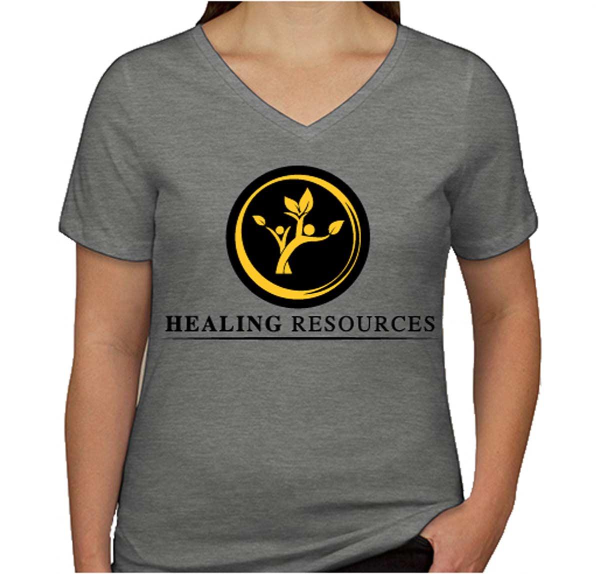 Healing Resources Women's V-Neck