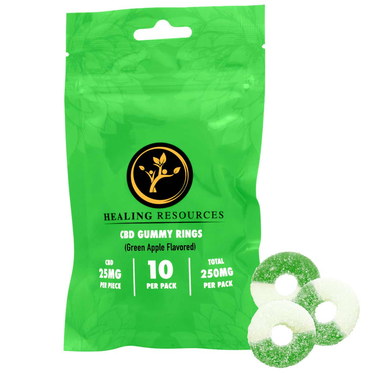 THC Free Gummy Rings